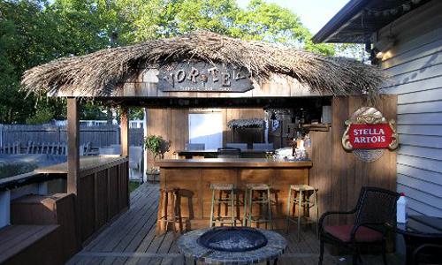 Fusaro Home Improvements - Tiki Bar on backyard bar lighting, backyard bar room, backyard bar garage, backyard bar tile, backyard bar house, backyard bar chimney, backyard bar deck, backyard bar framing, backyard bar pool,